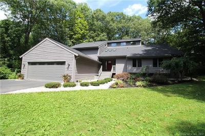Cheshire Single Family Home For Sale: 100 Hidden Place