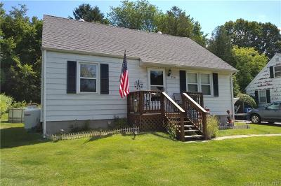 Waterbury Single Family Home For Sale: 216 Chestnut Hill Avenue