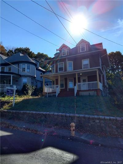 Waterbury Single Family Home For Sale: 29 Chapman Avenue