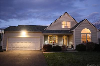 East Granby Single Family Home For Sale: 15 Crystal Drive