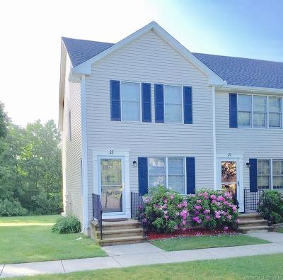 Wallingford CT Condo/Townhouse For Sale: $191,900