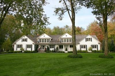 Fairfield County Single Family Home For Sale: 183 Turtle Back Road