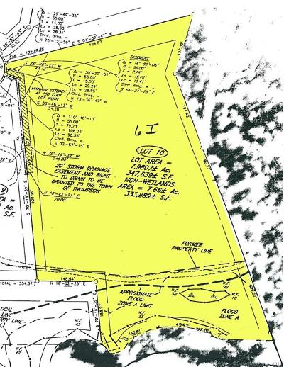 Tolland County, Windham County Residential Lots & Land For Sale: I Logans Lane