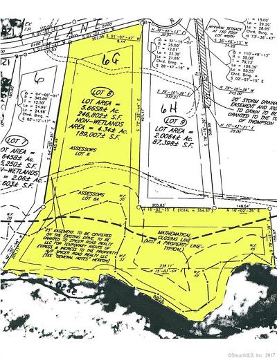 Tolland County, Windham County Residential Lots & Land For Sale: G Logans Lane