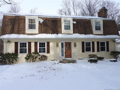 West Hartford Single Family Home For Sale: 665 Mountain Road