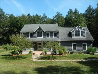 Coventry Single Family Home For Sale: 577 Brewster Street