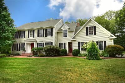 Tolland Single Family Home For Sale: 14 Bucks Crossing