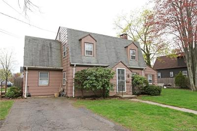 West Hartford Single Family Home For Sale: 61 Keeney Avenue