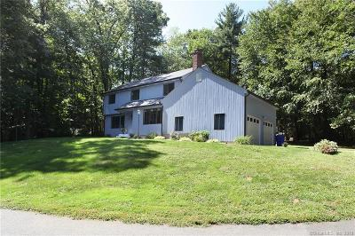Simsbury Single Family Home For Sale: 108 Old Canal Way