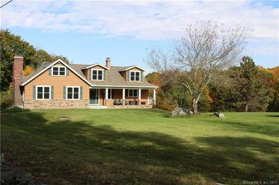Preston Single Family Home For Sale: 4 Hinckley Hill Road