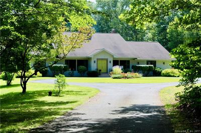 Woodbury Single Family Home For Sale: 220 Church Hill Road