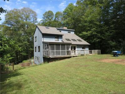 Hebron Single Family Home For Sale: 260 Skinner Lane