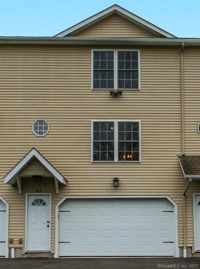 Waterbury Condo/Townhouse For Sale: 180 Grilleytown Road #6