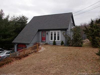 Naugatuck Single Family Home For Sale: 218 Horton Hill Road