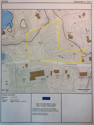 New London County Residential Lots & Land For Sale: Old Salem Road Road