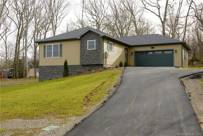 Ledyard Single Family Home For Sale: 6 Hilltop Drive