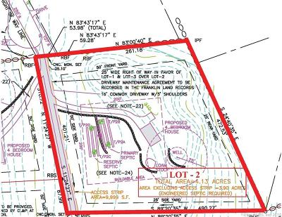 New London County Residential Lots & Land For Sale: 00 Pautipaug Lane