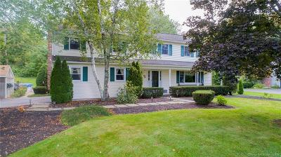 Simsbury Single Family Home For Sale: 111 County Road