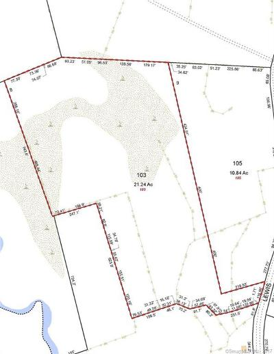 New London County Residential Lots & Land For Sale: 103 Lewis Road