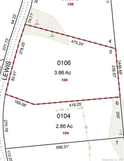 New London County Residential Lots & Land For Sale: 106 Lewis Road