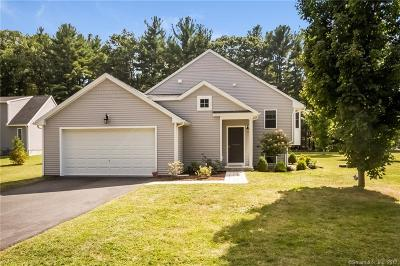 Simsbury Condo/Townhouse For Sale: 134 Firetown Road