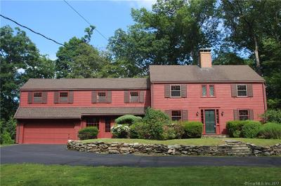 West Hartford Single Family Home For Sale: 118 Waterside Lane