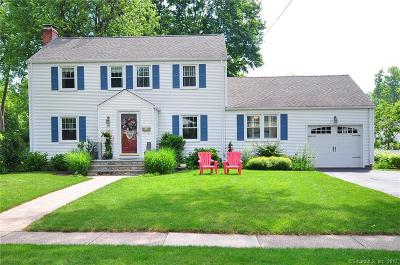 West Hartford Single Family Home For Sale: 70 Riggs Avenue