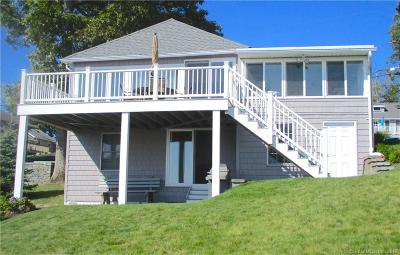 Old Lyme Single Family Home For Sale: 52 Sea View Road
