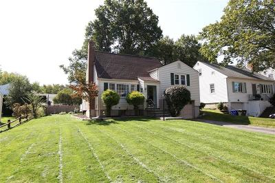 Wethersfield Single Family Home For Sale: 122 Dix Road