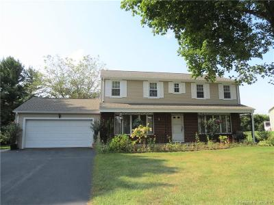 Wethersfield Single Family Home For Sale: 228 Cricket Knoll