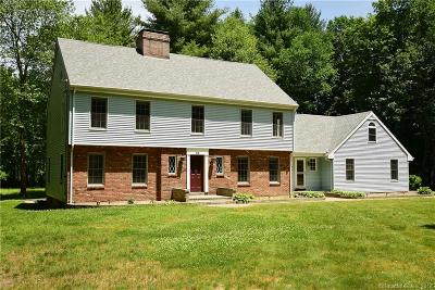 Simsbury Single Family Home For Sale: 23 Wescott Road