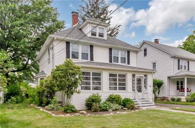 West Hartford Single Family Home For Sale: 9 Westfield Road
