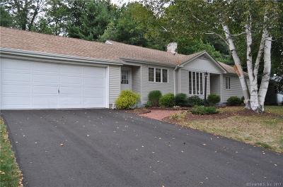 West Hartford Single Family Home For Sale: 28 Royal Oak Drive