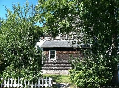 Stonington Single Family Home For Sale: 24-26 Stillman Avenue