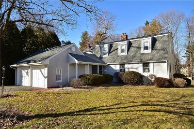 West Hartford Single Family Home For Sale: 10 Hedwig Court