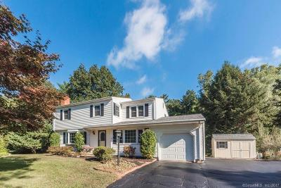 Cheshire Single Family Home For Sale: 130 Creamery Road