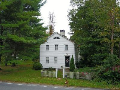 Woodbury Single Family Home For Sale: 334 Weekeepeemee Road