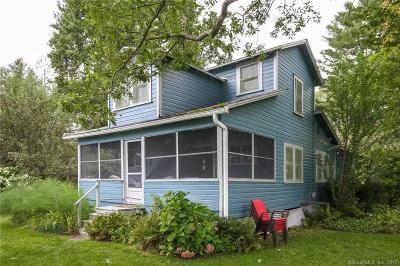 Tolland County, Windham County Single Family Home For Sale: 132 & 134 Route 87