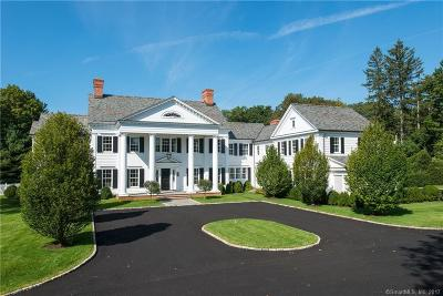 Fairfield County Single Family Home For Sale: 272 Round Hill Road