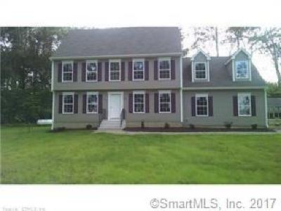 Tolland County, Windham County Single Family Home For Sale: Lot 7 Riley Mountain Road