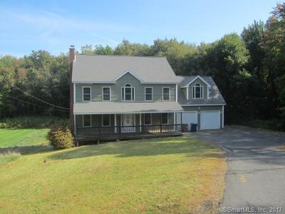 Tolland County, Windham County Single Family Home For Sale: 102 Lake Street