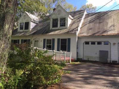 Tolland County, Windham County Single Family Home For Sale: 119 Hell Hollow Road
