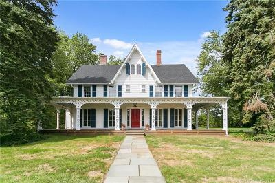 Fairfield Single Family Home For Sale: 690 Old Post Road