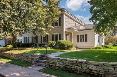 West Hartford Condo/Townhouse For Sale: 580 Mountain Road #J