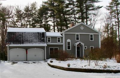 Simsbury Single Family Home For Sale: 29 Canton Road