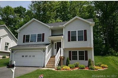 Tolland County, Windham County Single Family Home For Sale: 39 Belvedere Drive