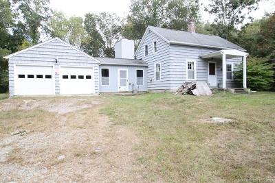 New London County Single Family Home For Sale: 216 Cossaduck Hill Road