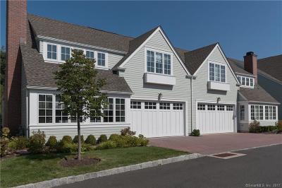 Darien Condo/Townhouse For Sale: 44 Kensett Lane