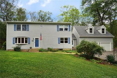 Hebron Single Family Home For Sale: 76 Stone House Road