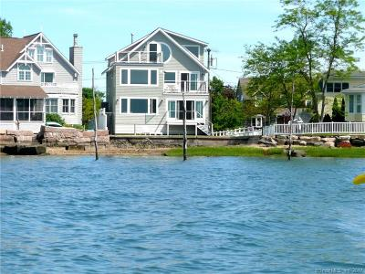 Branford Single Family Home For Sale: 65 Sunset Beach Road